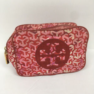 Tory Burch Printed Cosmetic Case Makeup Bag